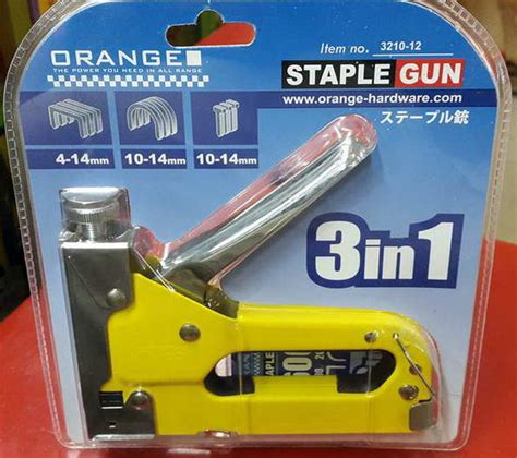Kenmaster Staples Tembak Gun Staple Kenmaster 4 14mm T3010 stapler tembak 3in1
