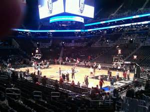 barclays center section 19 barclays center section 4 row 15 seat 5 brooklyn nets vs