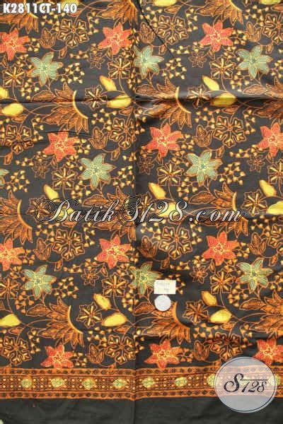 Kain Batik Cap Motif Bunga jual kain batik motif bunga batik cap tulis buatan