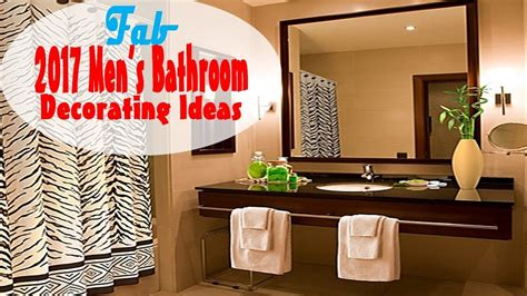 mens bathroom decorating ideas youtube