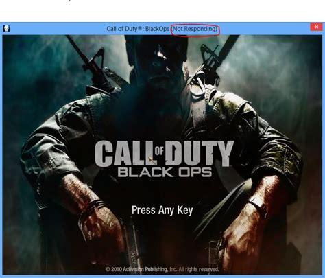 call of duty black ops crashes freezes errors and fixes call of duty black ops freezes on press any key