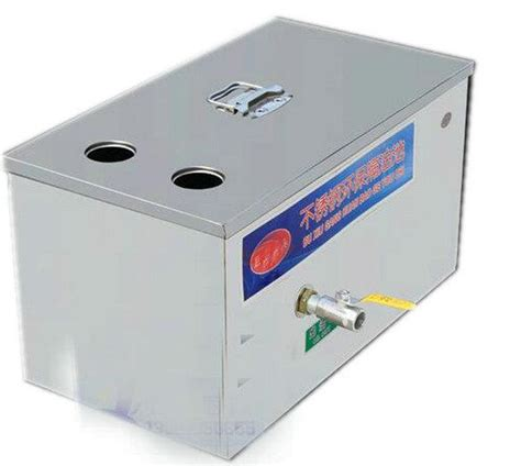 under solids interceptor stainless steel grease trap interceptor for restaurant