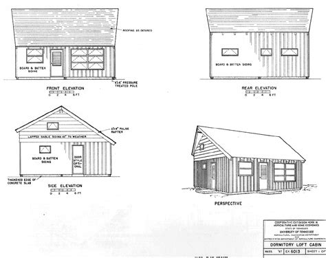 free cabin plans with loft free small cabin plans