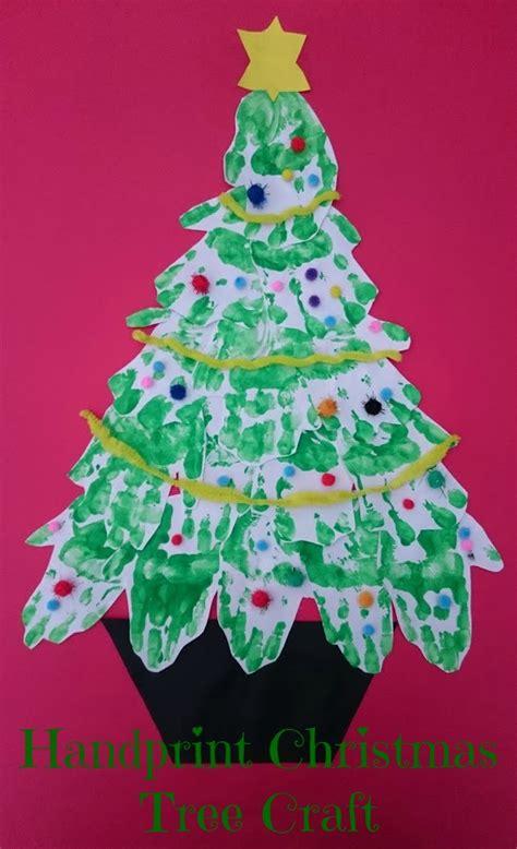 handprint tree craft a handprint tree