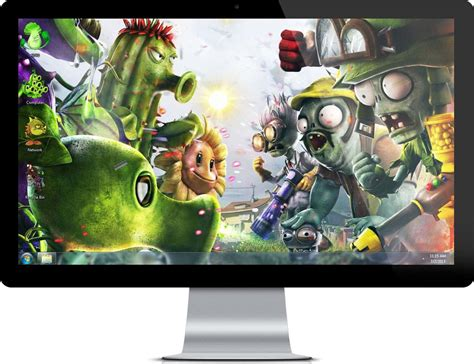 expothemes games plants vs zombies 2 it s about time theme for widows 7