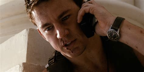 watch white house down horloge channing tatum in white house down 2013