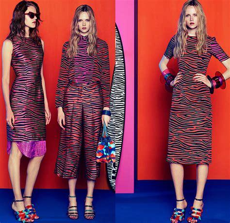 Fashion Zebra Stripes 8059 house of 2015 resort womens looks denim fashion week runway catwalks fashion