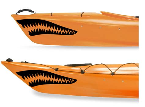 inflatable boat decals shark stickers for boats satu sticker