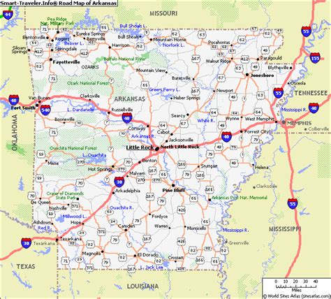 map arkansas map of arkansas map pictures