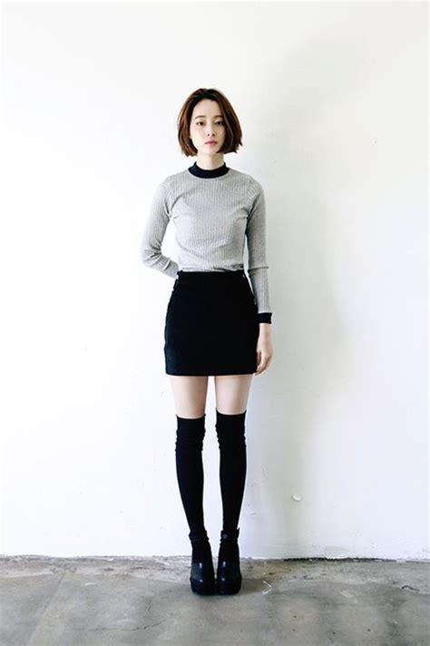 minimalist socks sassy ways to style knee high socks knee high socks