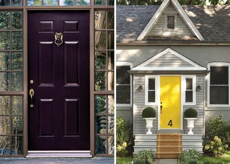 eggplant front door exterior inspiration 20 front door colors 1