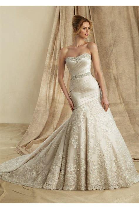 fotos de vestidos de novia vestidos de novia 2015 de satin con encaje vestidos de