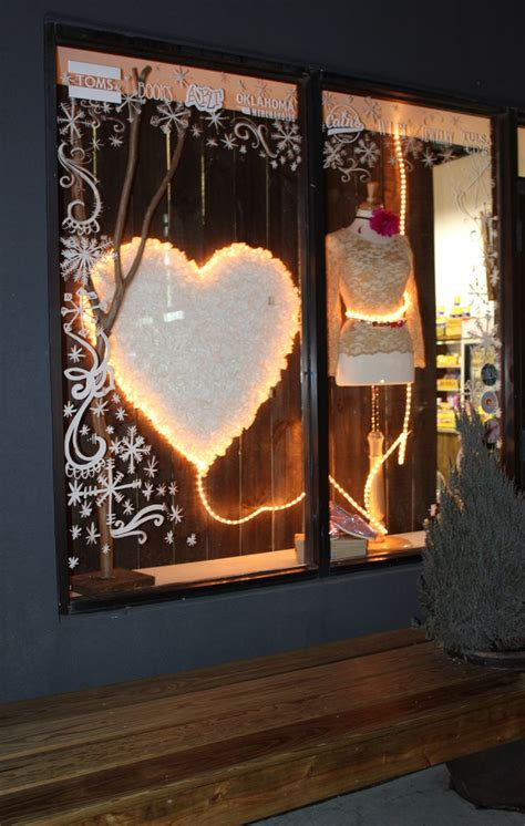 valentines day window valentine s day window display kara paslay design