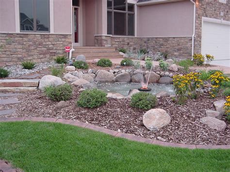rock landscaping ideas front yard home design ideas