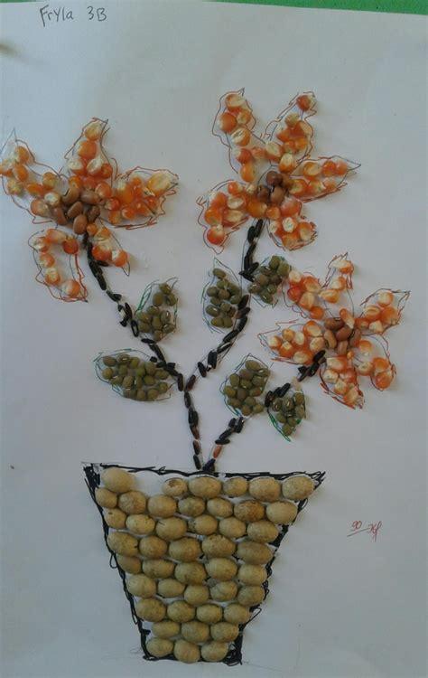 gambar bunga  biji bijian
