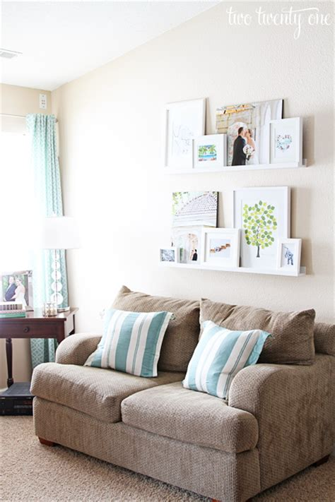 pictures for above couch living room picture ledges picture ledge two twenty one