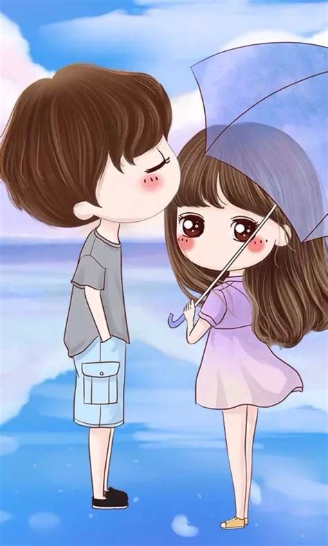 Anime Couple Love Pics Best 25 Cute Couple Cartoon Ideas On Pinterest Love