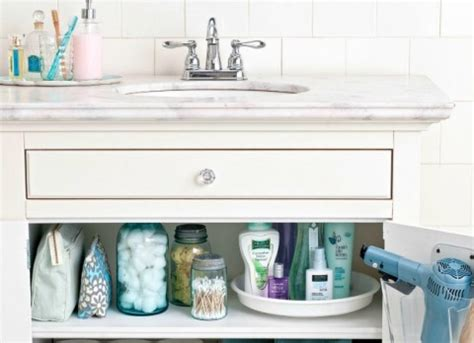 lazy susan for bathroom 10 one minute tricks to get more organized quickly and