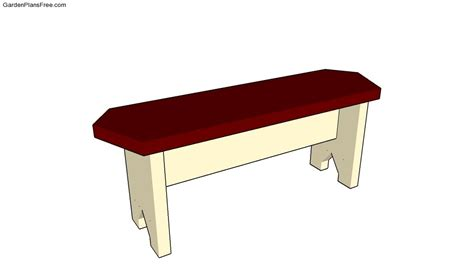 simple wood bench plans free plans for wooden garden bench quick woodworking