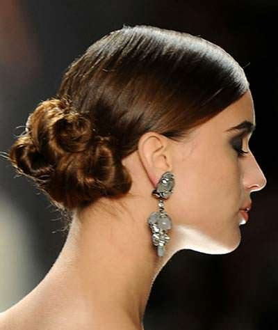 Low Side Bun Hairstyles by Low Side Bun Hairstyles For Weddings