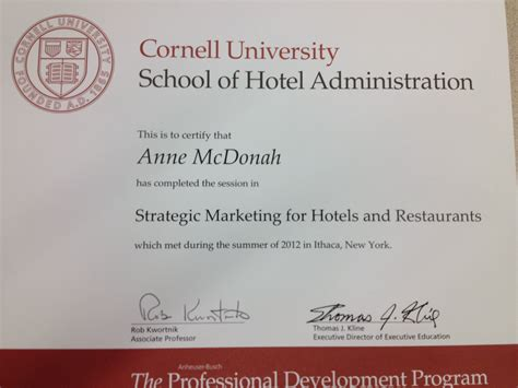 Cornell Marketing Mba Certificate by The Cornell Experience 171 The Belgravia Bed Breakfast