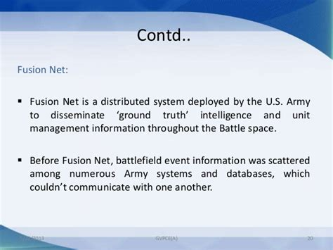 distributed data fusion for network centric operations books software technologies in defence ppt