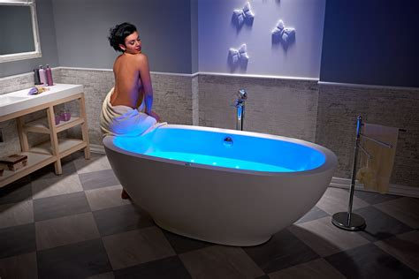 sit bathtub the very first freestanding stone jetted bathtub