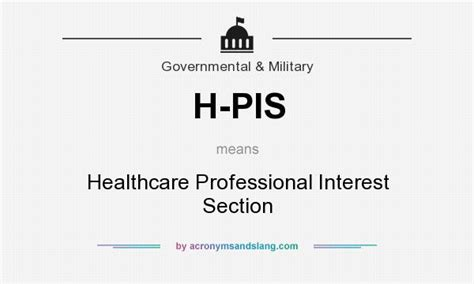 abbreviation for section what does h pis mean definition of h pis h pis stands