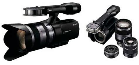 Handycam Sony Yang Bisa Proyektor nex vg10 hd camcorder sony pertama yang bisa