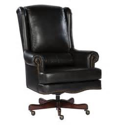 Desk Chair Leather Black Leather Executive Office Desk Chair Ebay