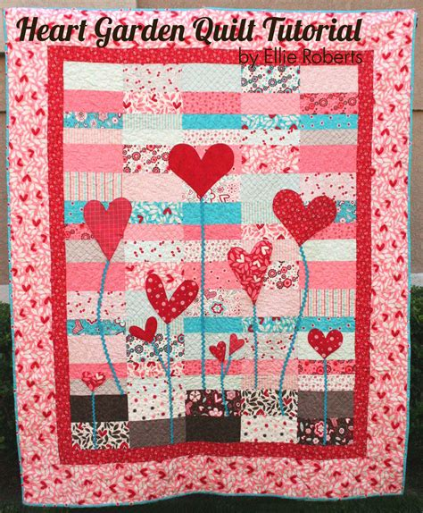 quilting project tutorial craft sew create valentine s projects
