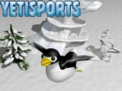 bloody penguin swing yeti sports penguin toss game