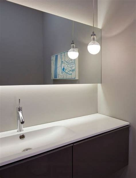 modern bathroom mirrors with lights rise and shine bathroom vanity lighting tips