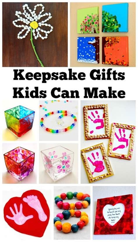 homemade birthday gifts for mom that kids can make www