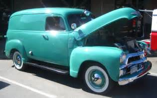 1954 chevrolet panel delivery truck photos