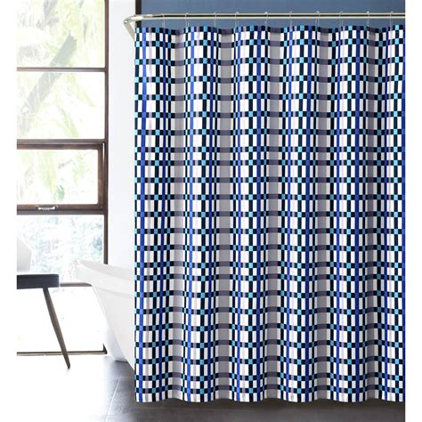boys shower curtains vcny modern boys emmitt 13 pc bath set blue shower