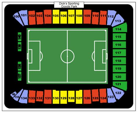 sporting park seating sporting goods park tickets sporting goods