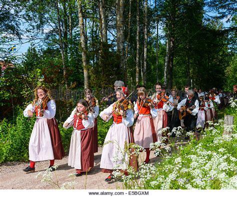 midsummer sweden celebration stock photos midsummer