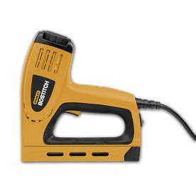 Electric Upholstery Staple Gun by Shop Bostitch 5 8 In Electric Staple Gun At Lowes