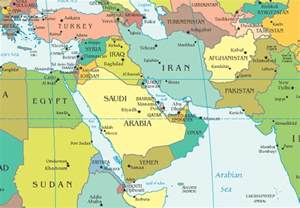 middle east map pre world war world war iii began in may 2006 building the new map of the middle east in real time