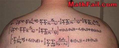 amazing math tattoos math tattoo pics math pics
