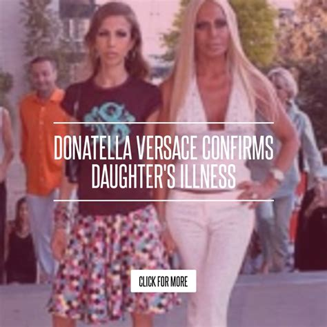 Donatella Versaces Admitted To Hospital For Anorexia by Donatella Versace Confirms S Illness Lifestyle
