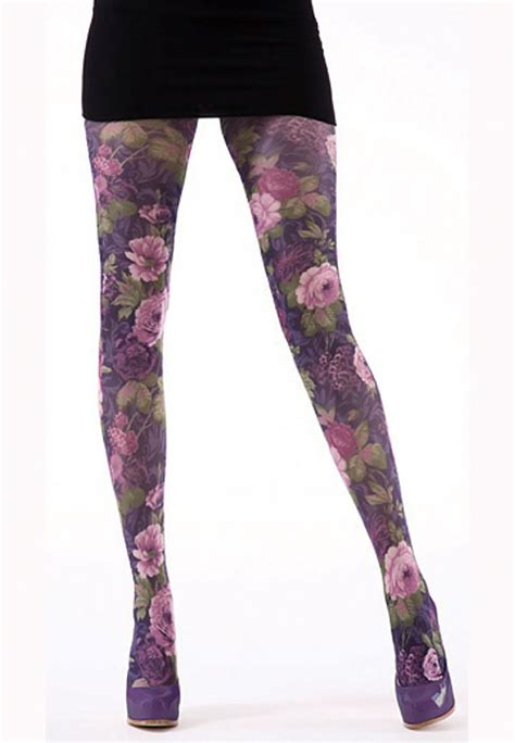 floral pattern tights uk tiffany quinn summer floral tights in stock at uk tights