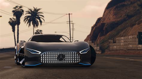 Schnellstes Auto Mercedes by Mercedes Amg Vision Gt Add On Gta5 Mods