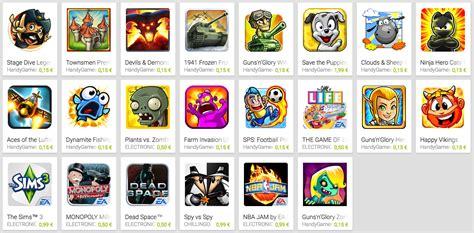 Play Store Juegos Play Store Rebaja Al 70 El Precio De Algunos De