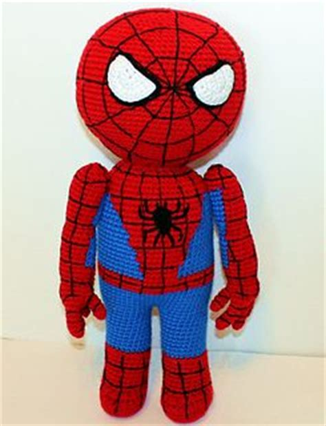 spiderman amigurumi pattern free spiderman crochet patterns and heroes on pinterest