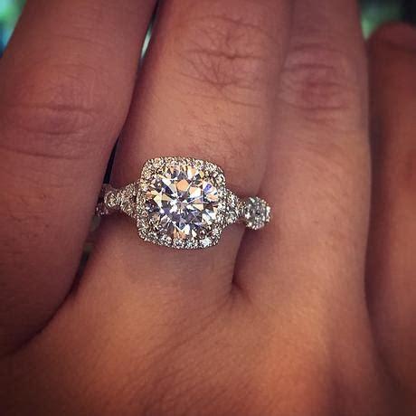 kim kardashian bought her own engagement ring cushion cut engagement rings eye candy paperblog