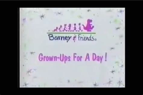for day grown ups for a day barney friends wiki fandom