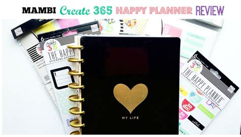 review me and my big ideas create 365 happy planner villabeautifful