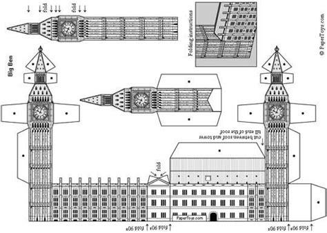 Big Ben Papercraft - 10 best images about crafts 3d paper crafts on